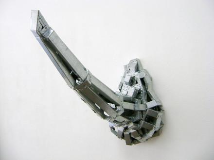 2008, acero galvanizado, 97 x 43 x 63 cm