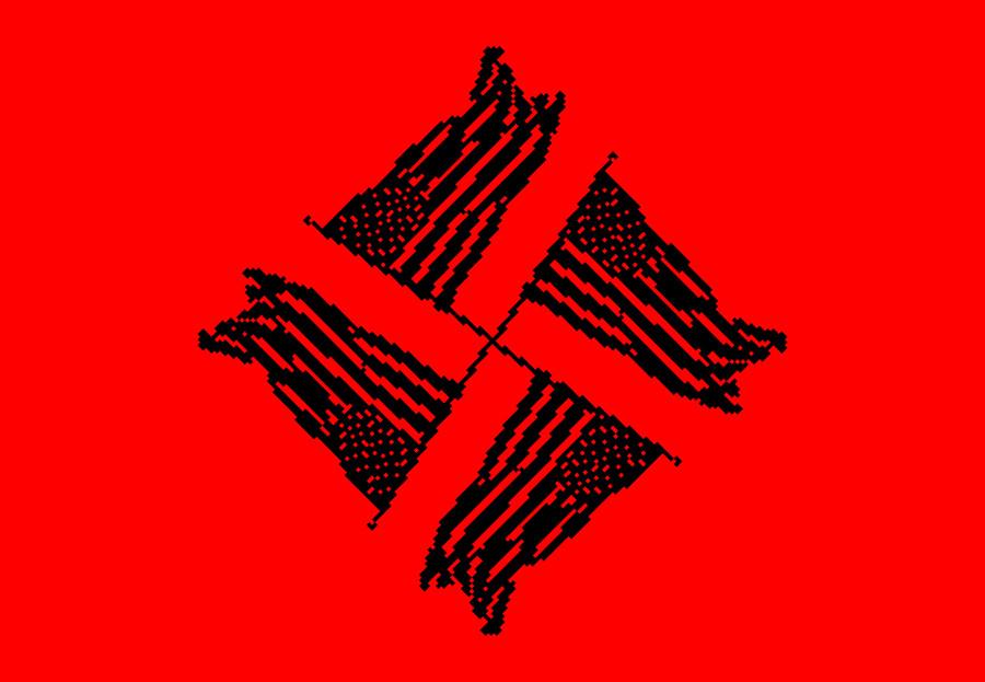 swastikaamericanaflag